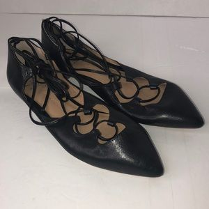 Banana republic flats Color Blk size 8
